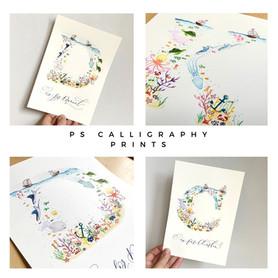 P S Calligraphy