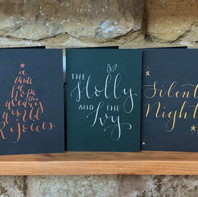 Christmas is Coming: Day One - Cards