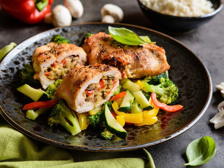Salsa Stuffed Chicken for this Covid-19 Father's Day 2020!