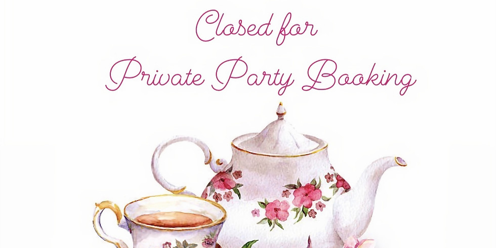 Private Party Booking at The Old Capitol Tea Room