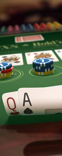 Casino Sponsorship: TX Hold Em/Slot Machine