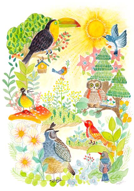 太陽鳥たち