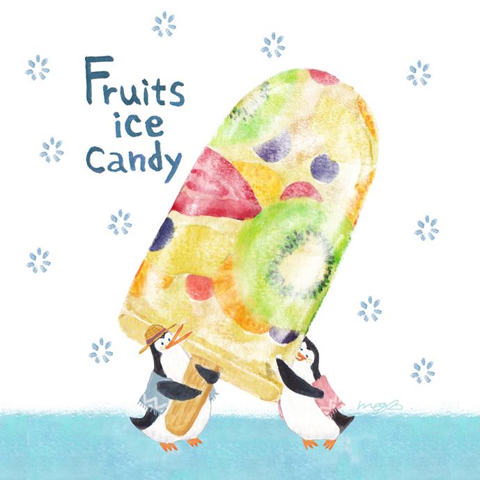 フルーツアイスキャンディー