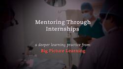 Mentoring Through Internships