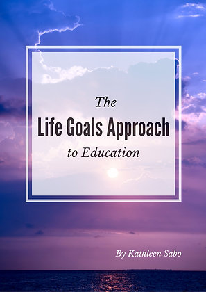 The Life Goals to Education Paperback Book