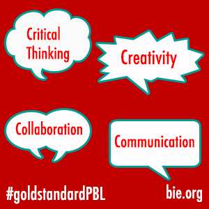 The Power of the 4Cs: The Foundation for Creating a Gold Standard for Project Based Learning (PBL)