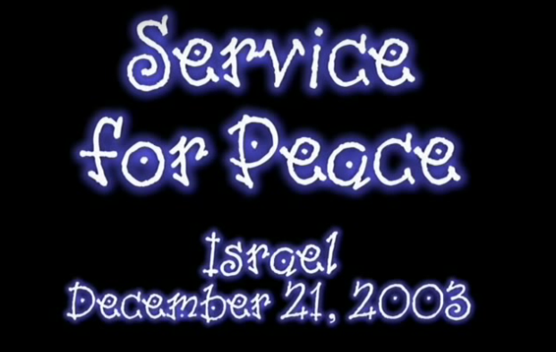 Service for Peace, Israel