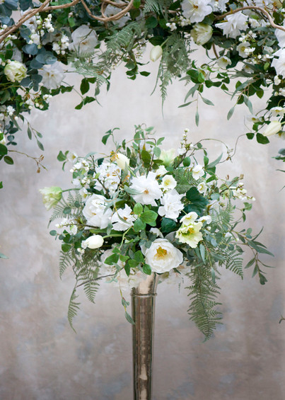 Spring Faux Flower Table Centre for Hire in Essex
