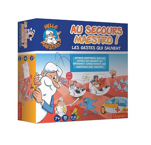 Rallye Quizz Au Secours Maestro ! Les gestes qui sauvent
