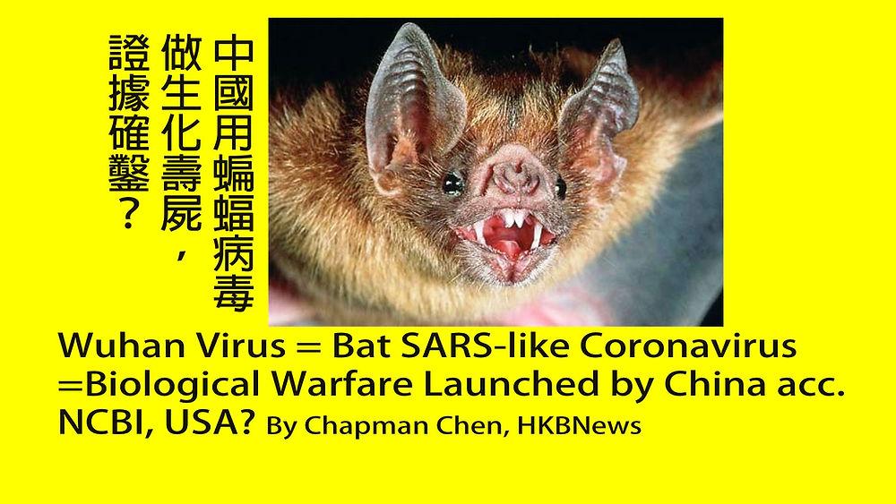 Wuhan Coronavirus Bat Sars Like Coronavirus Biological