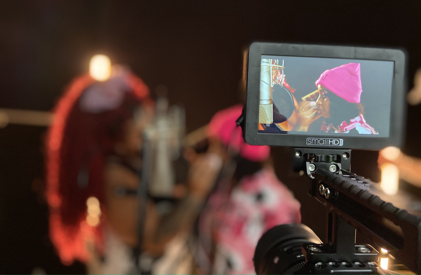 Behind the scene video production