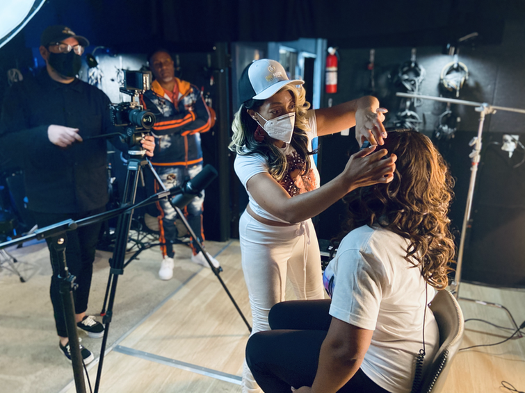 Behind the scene #shesocial videoclip