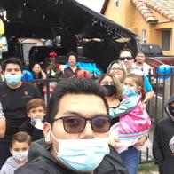 "Family & Juan Carlos ""Cookie"" Hernandez (May 2020)"