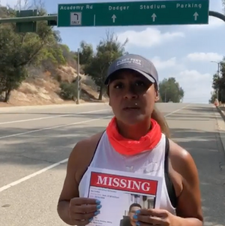 Running community supports search for Juan