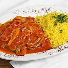 Kufta with tomato