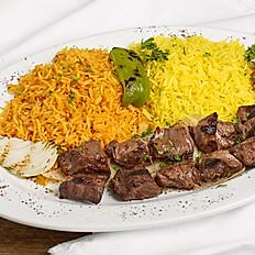 Lamb shish kababs