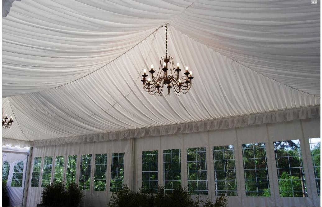 Конусный шатер с окнами