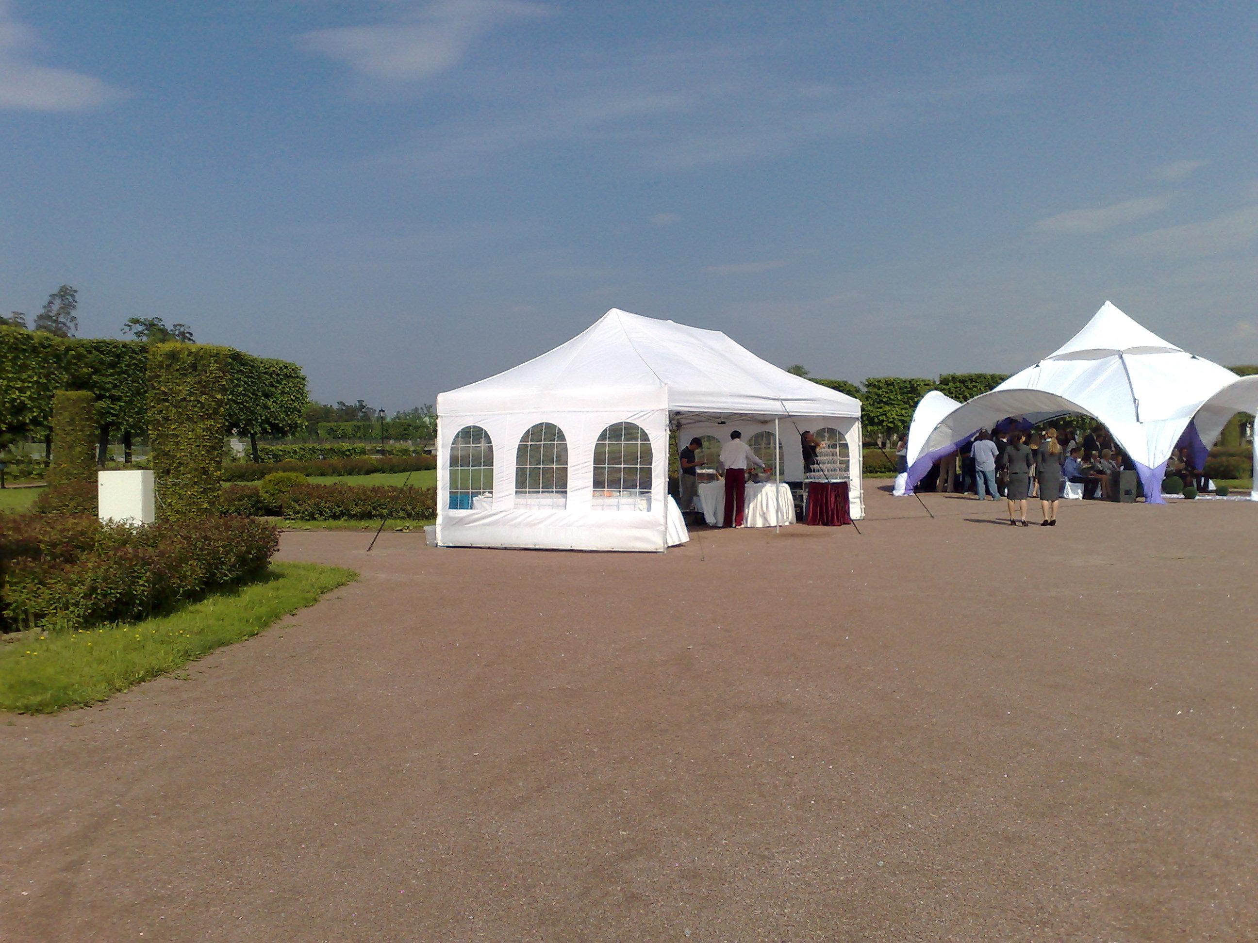 Прямоугольный конусный шатер 8*4 м