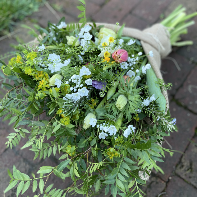 Spring Punch bouquet | February