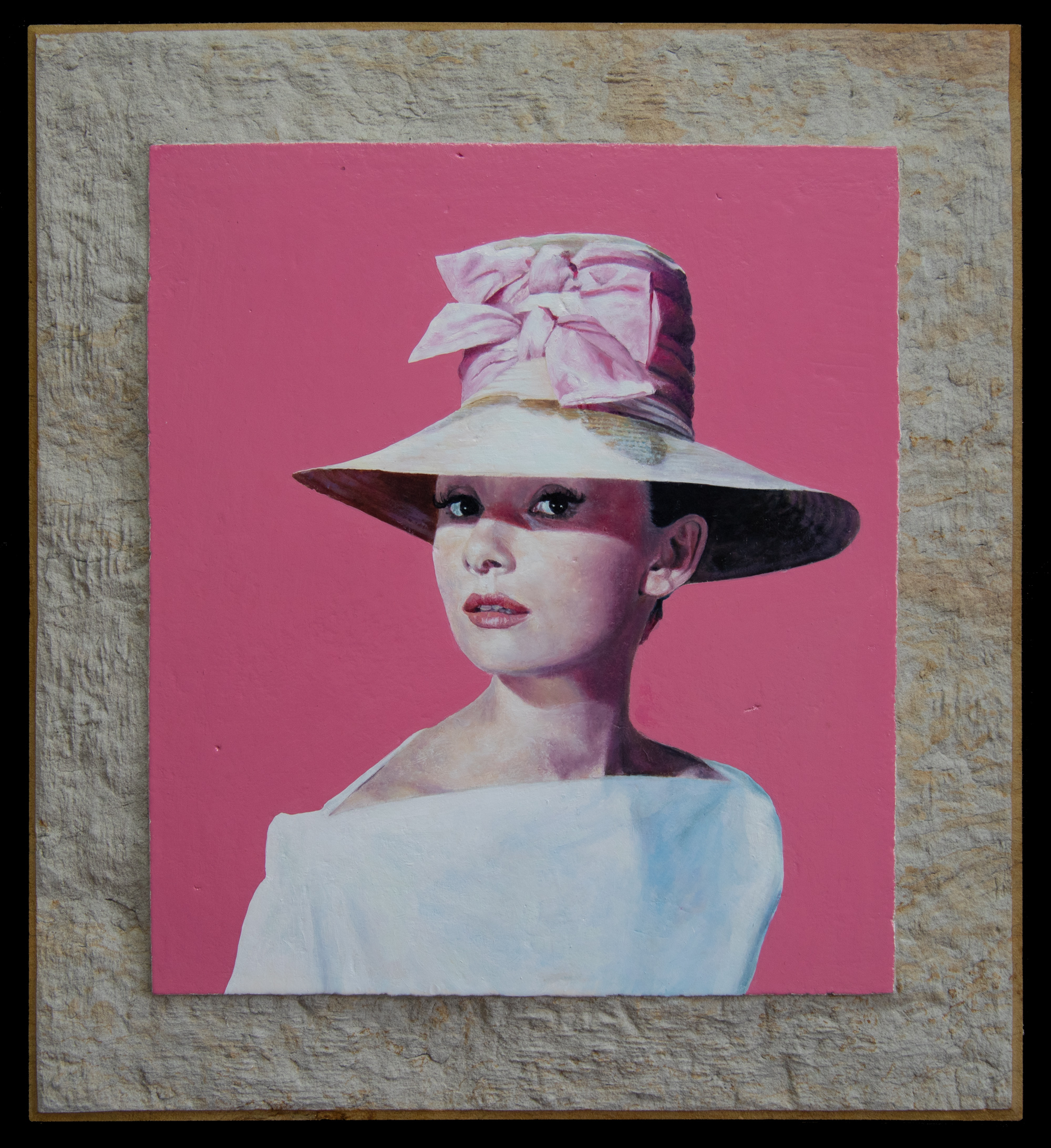 Audrey Hepburn Steinrahmen