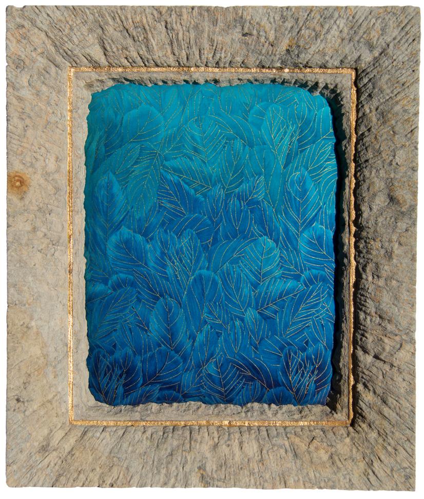 Blue Ara, Sandstein, Baumwolle