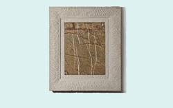 Bilderrahmen Sandstein mit Intarsie