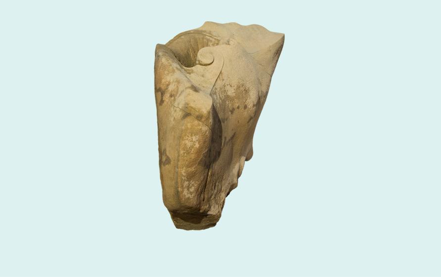 03. Rochen-Vase, Sandstein