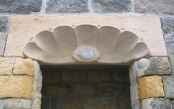Muschelstein, Projekt 02, Sandstein