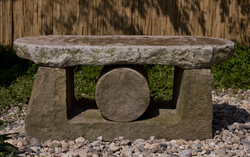 Bank, Sandstein, Granit