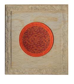 Kreis in Orange