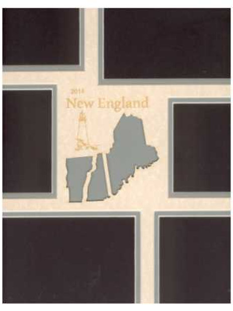 New England Mat: Maine, Vermont, NewHampshire