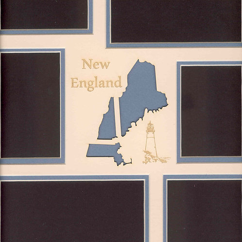 New England Mat: Maine, NewHampshire, Massachusetts