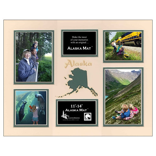 """11""""x14"""" Alaska Mat, Landscape"""