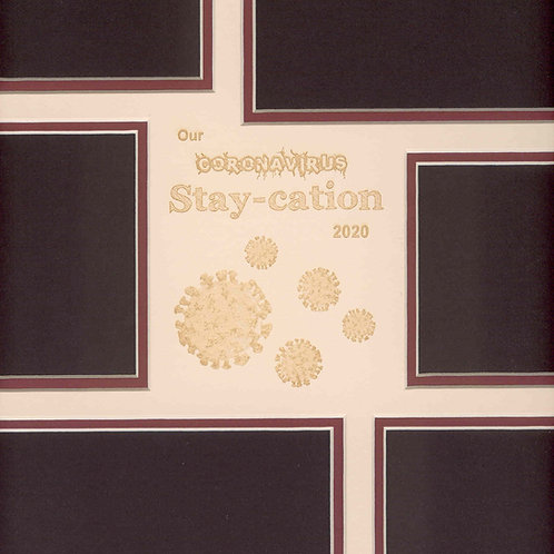 Coronavirus Staycation Mat