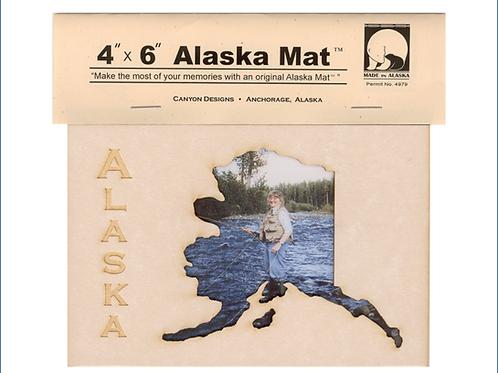 """4""""x 6"""" Alaska Mat"""