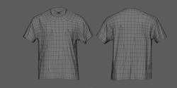 T-Shirt Wireframe