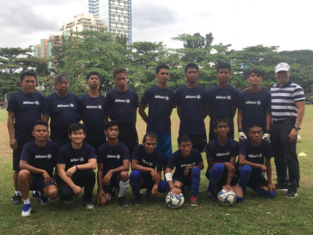 1st Philippine Cerebral Palsy Football Team to compete in upcoming ASEAN ParaGames
