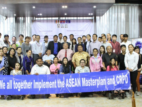 ADF IN COLLABORATION WITH CAMBODIA DISABLED PEOPLE ORGANIZATION