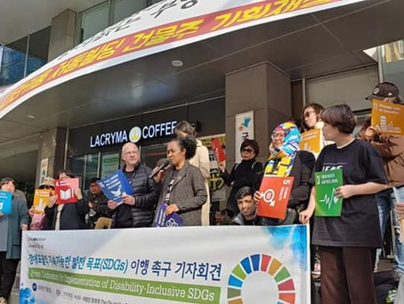 ADF participated in the Inclusive - SDGs Workshop In South Korea