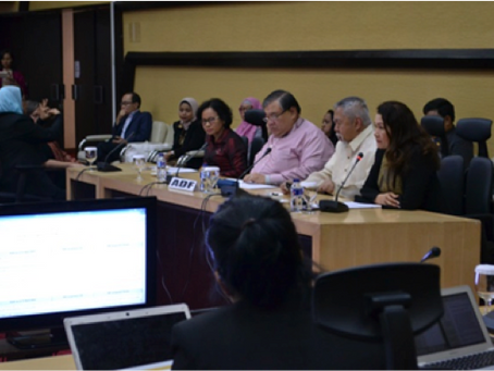 The 7th Meeting of Taskforce on the Mainstreaming of the Rights of Persons with Disabilities Jakarta