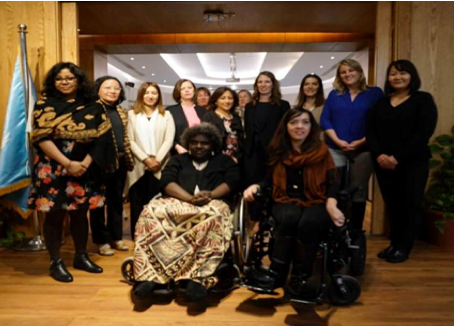 The First Meeting Of The IDA Task Team on Women With Disabilities