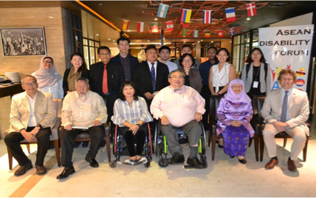 ASEAN Disability Forum (ADF) Diplomatic Briefing on the Draft  of Enabling Masterplan on the Rights