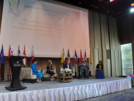 The opening of ASEAN Disability Forum (ADF) Conference 2019