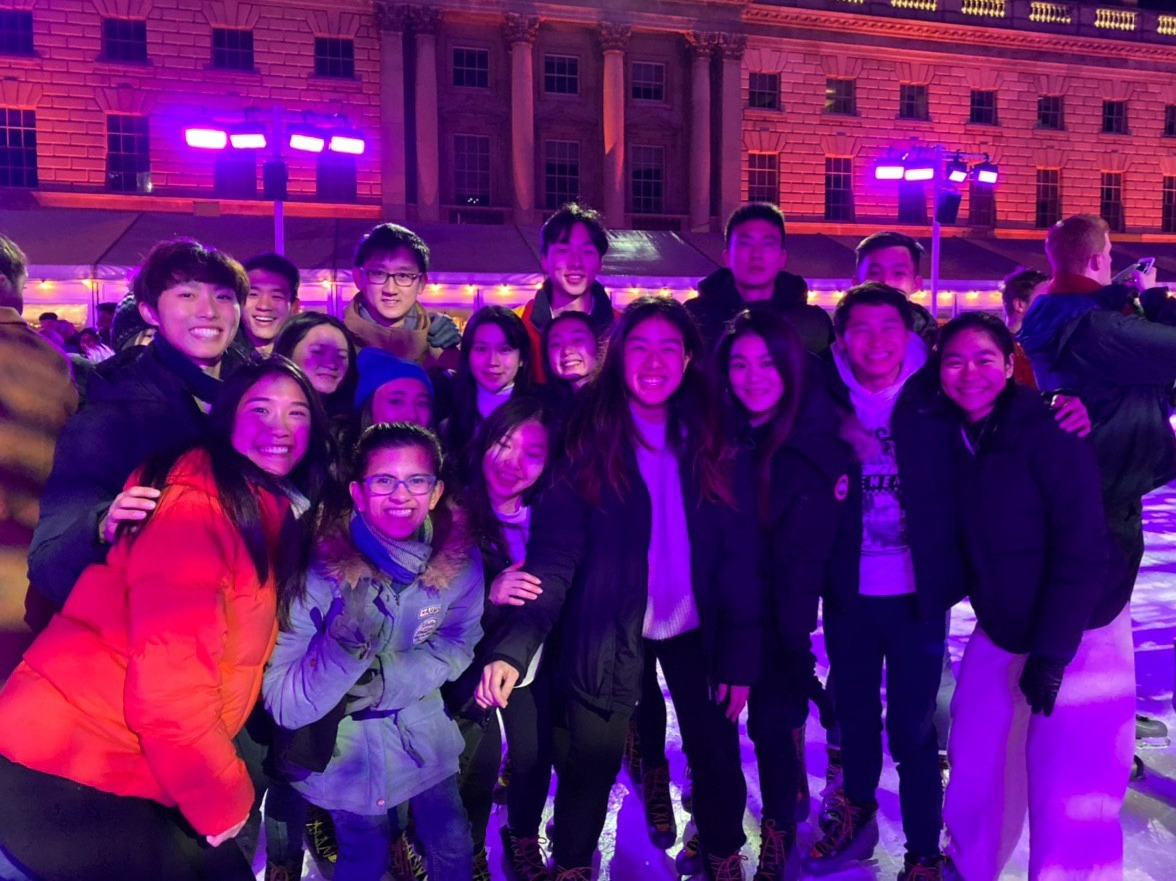 Ice Skating @ Somerset House 2019