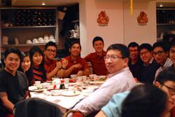Chinese New Year Dinner 2016