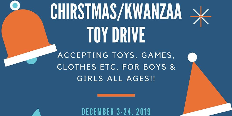 2nd Annual Christmas/Kwanzaa Toy Drive