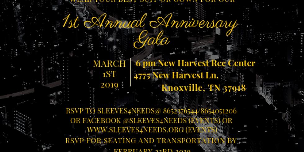 1st Annual Anniversary Gala