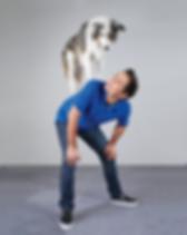 Chris-Perondi-Vinny-dog-trick-back-stall