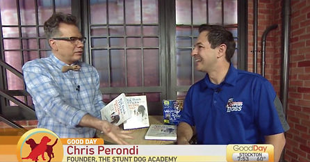 Chris-Perondi-dog-tricks-book-KMAX-TV-Go