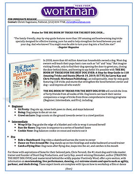 Dog-Tricks-Book-press-release-Larry-Kay-